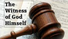 The Witness of God Himself