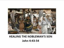 Healing the Nobleman