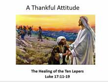A Thankful Attitude